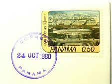 """1980 Panama 50 Cent Stamp - Cancelled 24 Oct 1980 """"Mint Condition""""  SB6175"""