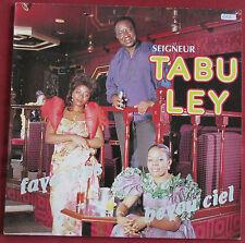 SEIGNEUR TABOU LEY   LP ORIG FR   AVEC FAYA TESS ET BEYOU CIEL