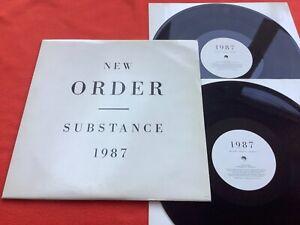 "NEW ORDER ""Substance"" Original 1997 DOUBLE VINYL LP - Factory Fact 200 - VG!!!!!"