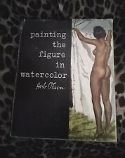 1958 Painting the Figure in Watercolor author Herb Olsen