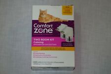 New listing Comfort Zone Calming Diffuser for Cats & Kittens Two Room Kit #3506