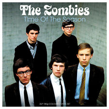 The Zombies TIME OF THE SEASON 180g BEST OF Limited NEW BLUE COLORED VINYL 2 LP