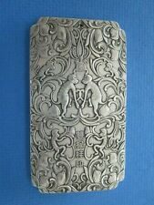 Chinese  year of the Monkey Silver Scroll /  Weight with Chop mark