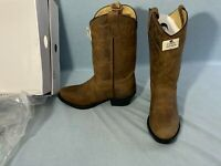 Cody James Oiled Dust Brown Leather Women's Western Boots sz 4D NEW