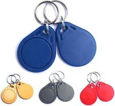 10PCS / lot 13.56Mhz RFID UID Card Token Key UID Changeable Writable keyfobs.