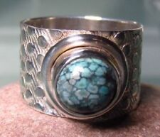 Turquoise Band Natural Fine Rings