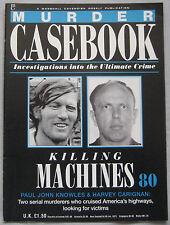 Murder Casebook Issue 80 - Killing Machines, Paul John Knowles & Harvey Carignan