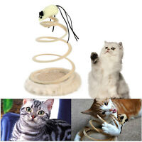 Cat/Kitten Pet Toy Interactive Spring Bouncing/Sway Spiral Play/Mouse Activity