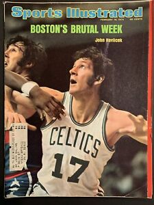 Sports Illustrated Magazine Feb 18 1974 JOHN HAVLICEK Boston's Brutal Week