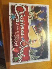 Christmas-opoly, monopoly game for christmas New Sealed