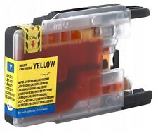 1x YELLOW non-OEM Compatible Ink for BROTHER MFC-J6510DW MFC-J6710DW MFC-J6910DW