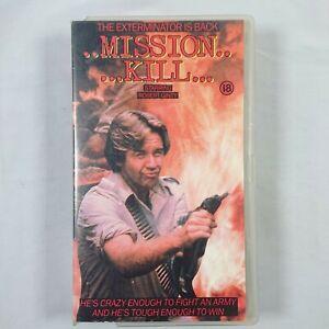 Mission Kill - Small Box VHS PAL 1985 Avatar Communications