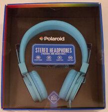 Polaroid Stereo headphones Foldable Adjustable Blue PHP 8555 New