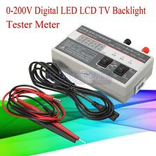 0-200V Digital LED LCD TV Backlight Tester Meter Tool Lamp Beads Repair Tool