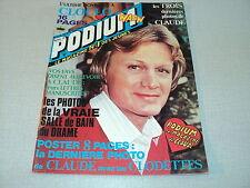 PODIUM 074 (4/78 )CLAUDE FRANCOIS SHEILA CARENE CHERYL SARDOU CLAUDE DUBOIS DAVE