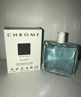 Azzaro Chrome for Men Azzaro EDT Spray 3.4 oz 100 ml Tester with Box No cap
