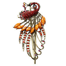 Jewelry Crystal Peacock Hair Clips - for hair clip Beauty Tools AD
