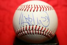 WELINGTON CASTILLO AUTOGRAPHED SIGNED BASEBALL CHICAGO WHITE SOX COA
