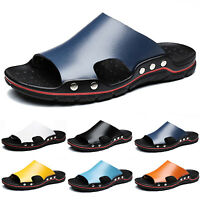 Men Summer Beach Sandals Open Toe Casual Slippers Outdoor Flat Shoes Slip On US
