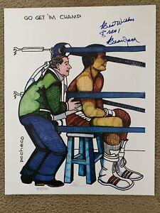"Ferdie Pacheco ""Go Get 'Im Champ"" Ali Print Signed By Pacheco &Beau Jack#415/500"