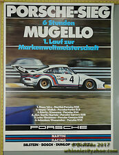 1976 6hrs Mugello 935 Ickx Bell   Porsche Genuine Factory Poster Original