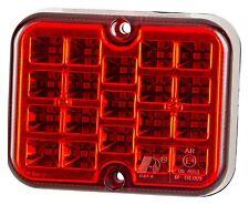 LED Anhänger Nebelschlussleuchte rot 19LEDs 12V