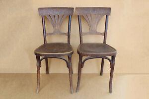 Antique Vintage Wooden Wood JJ Kohn Vienna Bentwood Chair Bistro Stool 1900's