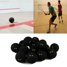 34A2 Squash Ball Two-Yellow Dots Low Speed Official Sports Rubber Balls Player