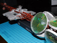 Silent Running Valley Forge DIY Handcraft PAPER MODEL KIT