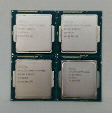 New listing Lot Of 4 - Intel Core i5-4590S - 3.0Ghz Lga1150 (Sr1Qn) Desktop Cpu Processor