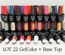 LOT 22 OPI GelColor + BASE TOP Coat Set Soak Off Gel Polish UV LED KIT ✽Ship 24H