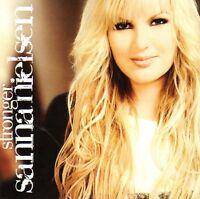 CD Sanna Nielsen, Stronger, 2008, NEU, Melodifestivalen Schweden, Eurovision