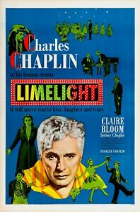 16mm LIMELIGHT (1952). Charlie Chaplin B/W Feature Film.