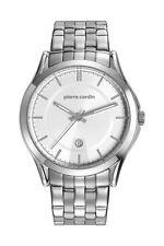 Pierre Cardin Herrenuhr Uhr PC-Olivet Edelstahl Datum Analog Quarz PC107221F04