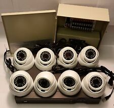 *PROFESSIONAL*HDTVI 1080P 2.4MP 8FIXLENS SECURITY CAMERA KIT+POWER+2TB HDD-WHITE