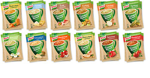 KNORR Instant Soup 100% FROM POLAND - BIG CHOICE - GORACY KUBEK QUICK COOKING