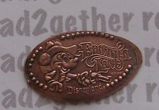 Disneyland Elongated/Pressed Penny Mickey Frontier Land Retired