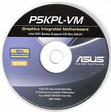 ASUS P5KPL-VM Motherboard Drivers Installation Disk M1199