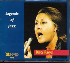 RITA REYS - Legends of Jazz (3 CD BOX) 60TR READER'S DIGEST 2004 Holland RARE!!