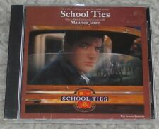 SCHOOL TIES (Maurice Jarre) rare original sealed cd (1992)  OUT-OF-PRINT!