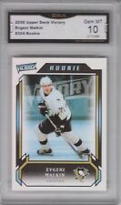GMA 10 Gem Mint EVGENI MALKIN 2006/07 UD Upper Deck VICTORY Rookie Card PENGUINS