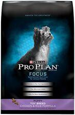 Purina Pro Plan FOCUS Puppy Toy Breed Formula Dry Dog Food - (1) 5 lb. Bag
