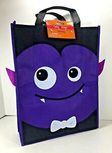NEW Spooky Village DRACULA Vampire Reusable TOTE Halloween Candy Treat GIFT BAG