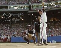 Tom Berenger Signed Baseball with Jake Taylor Insc - Beckett COA - Beckett