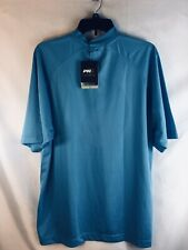 Nwt Stand up Neck Top Pivot Rules Prx 07117 Size L Mens Blue
