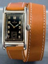 Very Rare Art Deco Aster Curvex Watch - Manual Wind Swiss Movement - 1930s - VGC