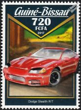 DODGE STEALTH (Mitsubishi GTO 3000GT) Sports Coupe Car Automobile Stamp