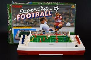 Vintage TOMY SuperCup Football RETRO game - Soccer - 1980s - RARE - Collectable