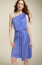 nwt NORMA KAMALI EVERLAST wedgewood BLUE One Shoulder DRESS  M