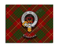 Cameron Clan Mouse Pad - Scottish Design Mat - High Quality - Tartan